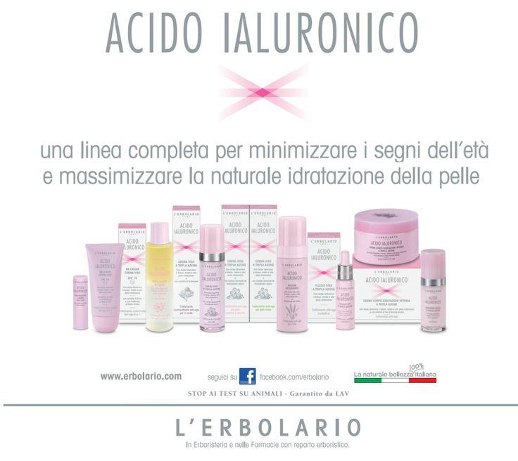 Inizia il percorso de L'Erbolario per un #visoperfetto : Acido Ialuronico per viso e corpo: idratazione, compattezza e giovinezza ritrovata!