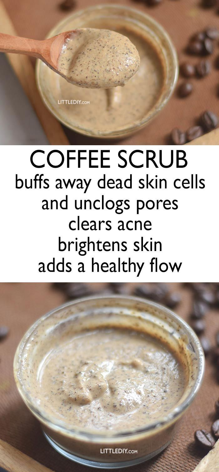 coffee scrub to clear acne
