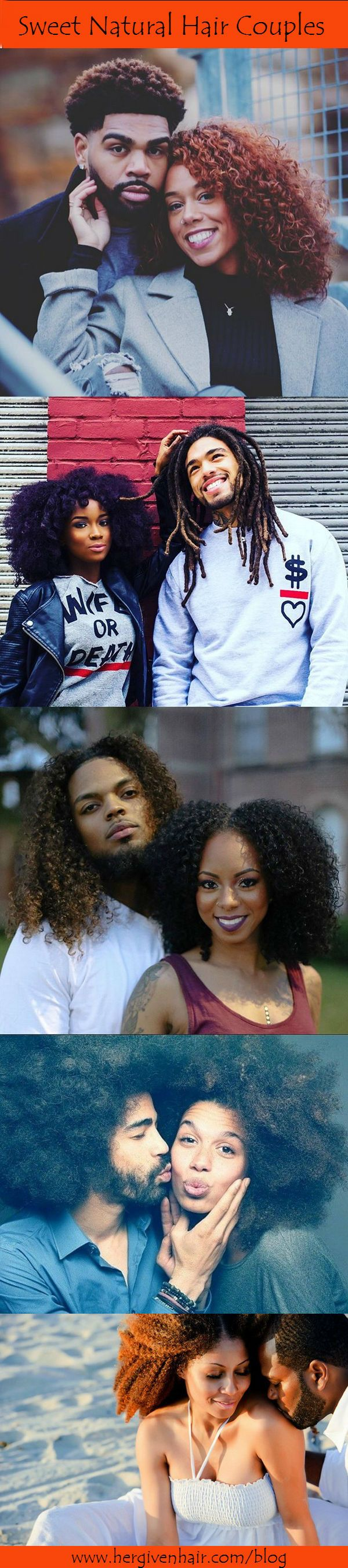 10 sweet natural hair couples on www.hergivenhair.com/blog #naturallove #blacklove