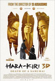 Watch Harakiri Death Of A Samurai Free Online. An tale of revenge, honor and disgrace, centering on a poverty-stricken samurai who discovers the fate of his ronin son-in-law, setting in motion a tense showdown of vengeance against the house of a feudal lord.