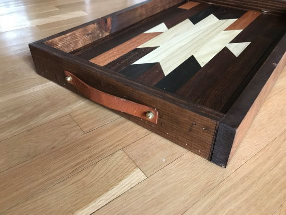 Navajo Aztec Native Boho Southwestern Serving by KnotAndSteelCo #knotandsteelco Home & Living  Furniture  Living Room Furniture  Coffee & End Tables  Navajo  Pendleton  West Elm  Aztec  Mid Century Native American  Log Cabin  BOHO  Serving Tray  Moroccan  Tribal  Geometric  Christmas