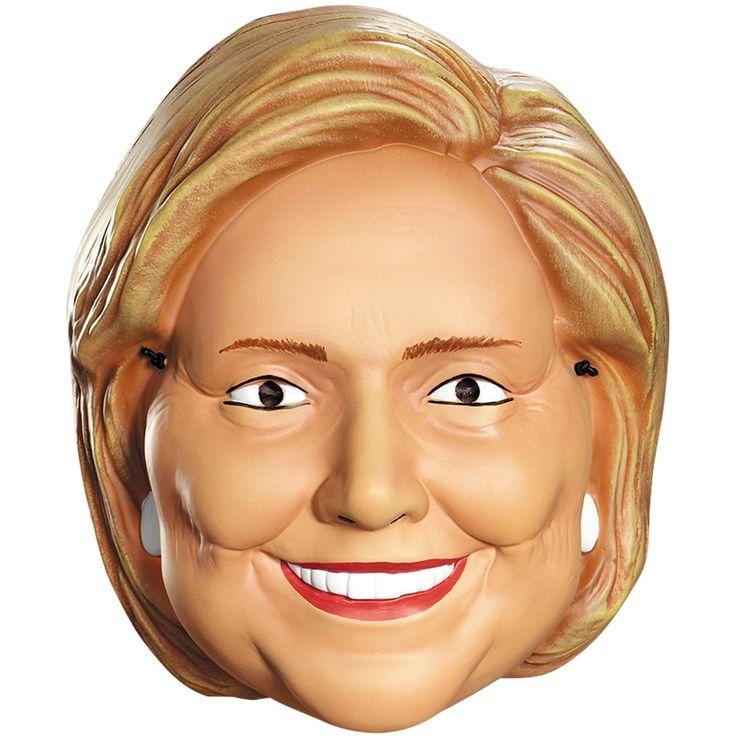 Hillary Clinton 1-2 Mask