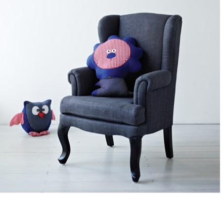 beautiful fresh kids bedroom chairs | Adairs kids Draper chair - this is beautiful! A mini chair ...
