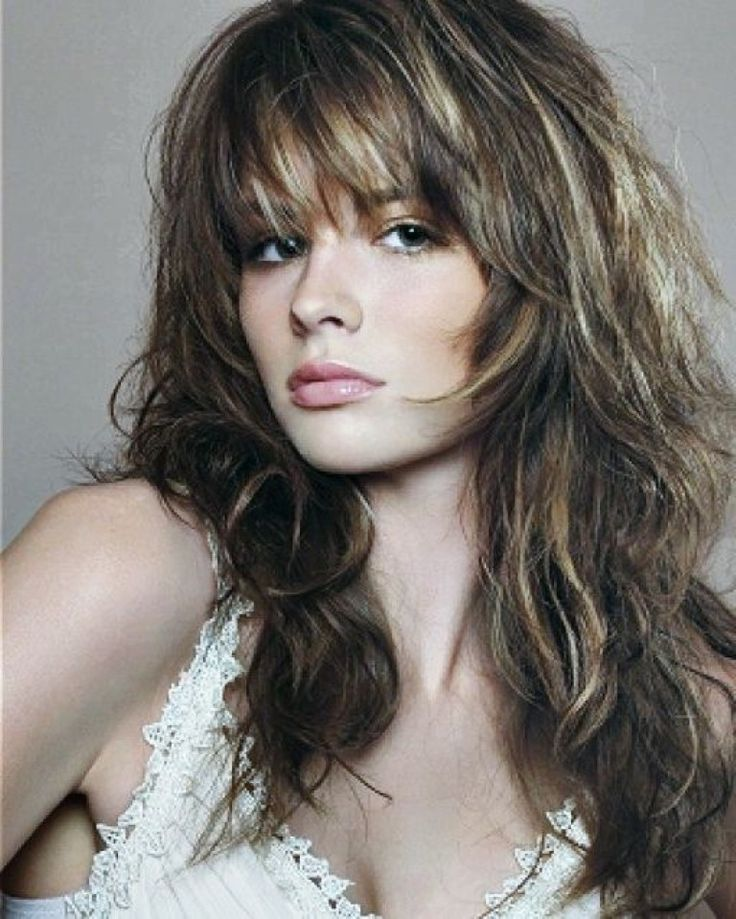 long shaggy hairstyles with bangs - Long Shaggy Hairstyles Ideas ...