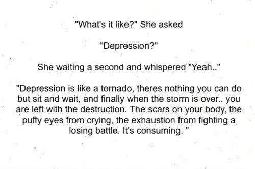 how to talk to someone who has depression