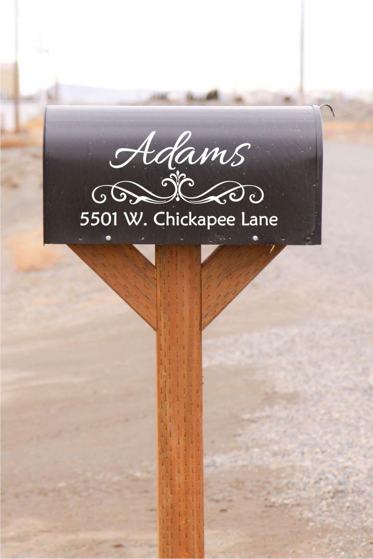 Best Door Mailbox Vinyl Decals By The Vinyl Company Images - Custom vinyl decal stickers   for business