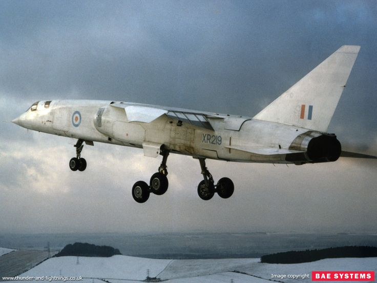 BAC TSR-2. Scrapped because a Harold Wilson probably did not want to upset either the Americans or the Russians. Ordered the F11, which was cancelled, followed by F4 Phantoms.