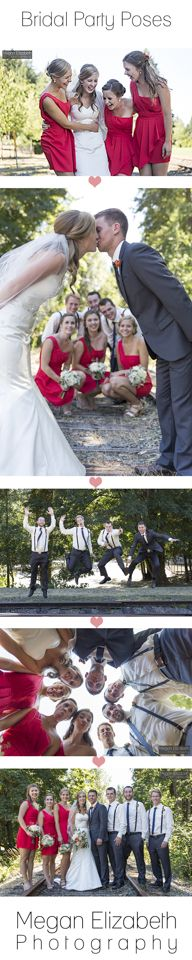 Bridal Party Photography Poses