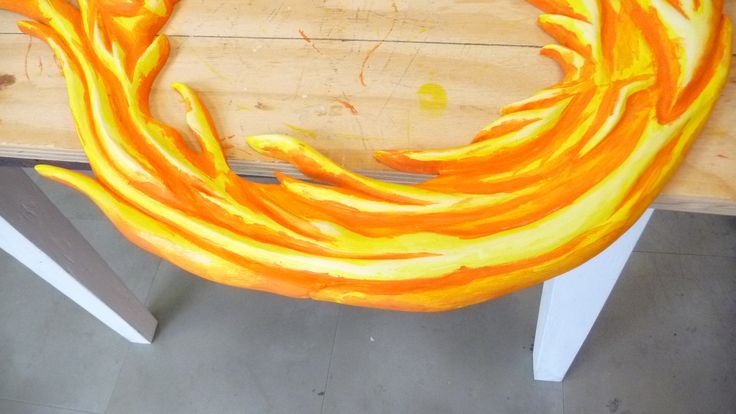 Dark orange is just the second layer - we have Four to complete..!