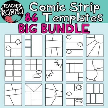 Best  Comic Strip Template Ideas On   Comic Template