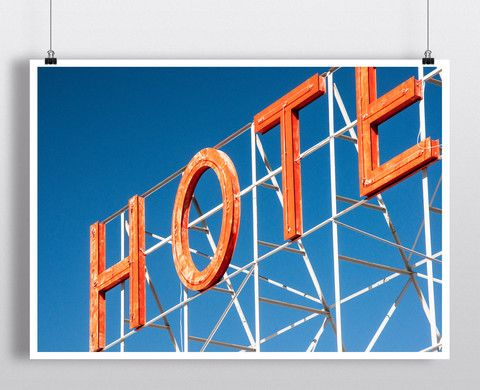 Hotel California – Hipster Posters