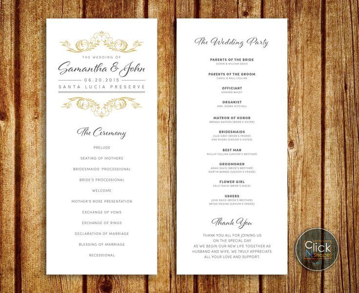 Best Wedding Ideas  Wedding Invitations  Wedding Programs