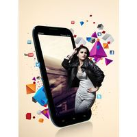 """BSNL Champion Trendy 531 Smart Phone Phablet  - 5.3"""" qHD Screen  - Quad Core - 13MP Camera with Flash and Autofocus Top of the Line Product"""