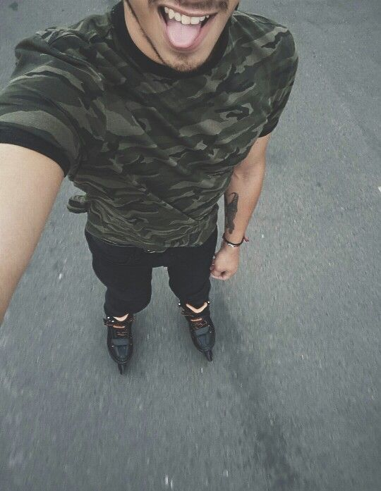 #boy #gay #free #rollerskates #life #me #fuckinglife