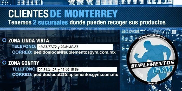 Venta de Suplementos Alimenticios a todo México, Monterrey, Guadalajara