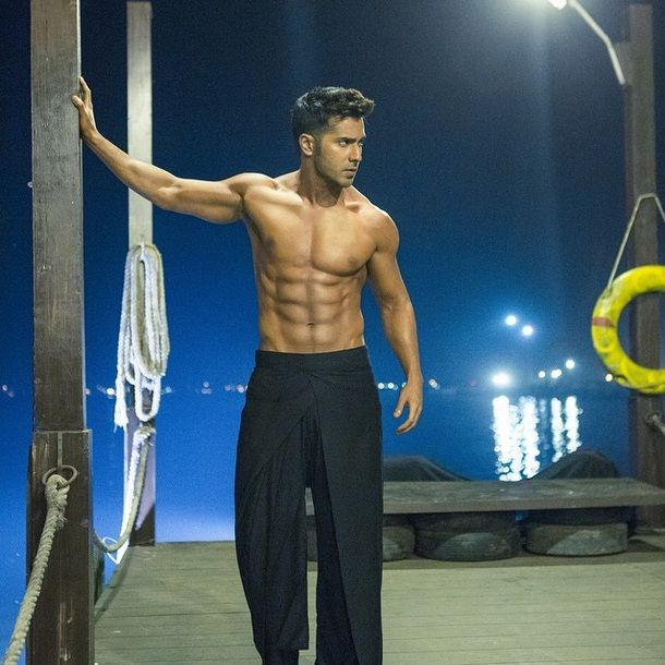 This is officially the yummiest picture of Varun Dhawan on the Internet right now! #ABCD2 #VarunDhawan