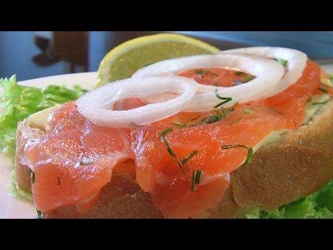 Быстрая засолка лососины видео рецепт