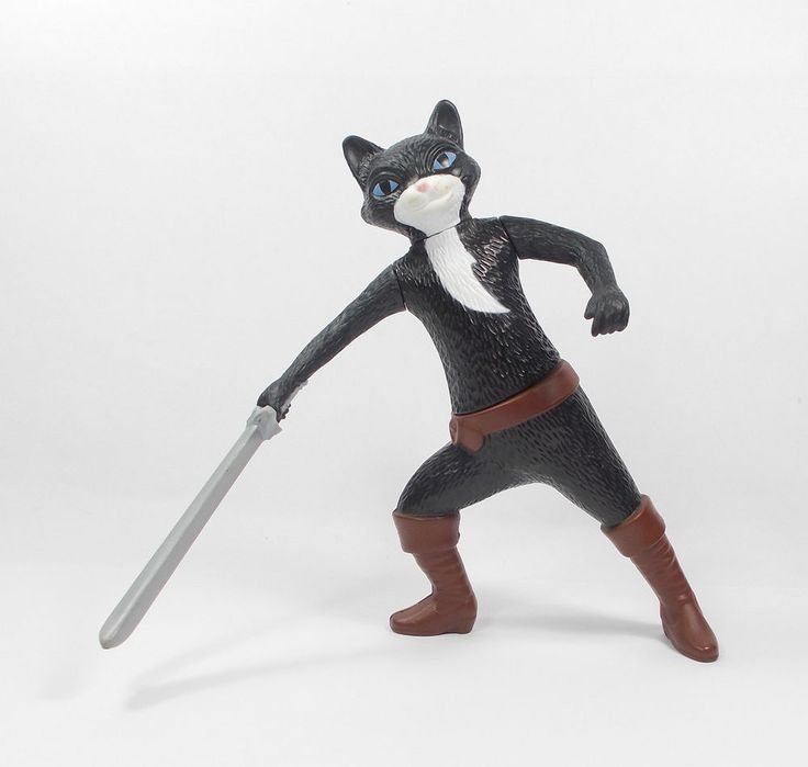 Puss In Boots - Kitty Softpaws - Toy Figure - Cake Topper (3)