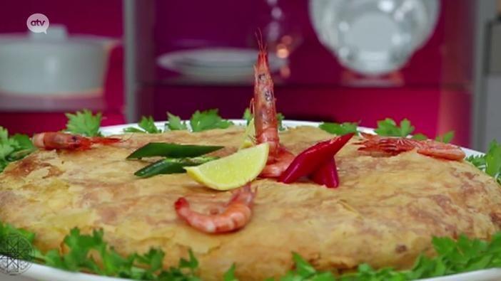 Recept 5 #Choumicha - Een krokante #Pastilla (hartige taart) met verschillende soorten vis