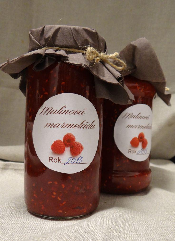 Malinová marmeláda