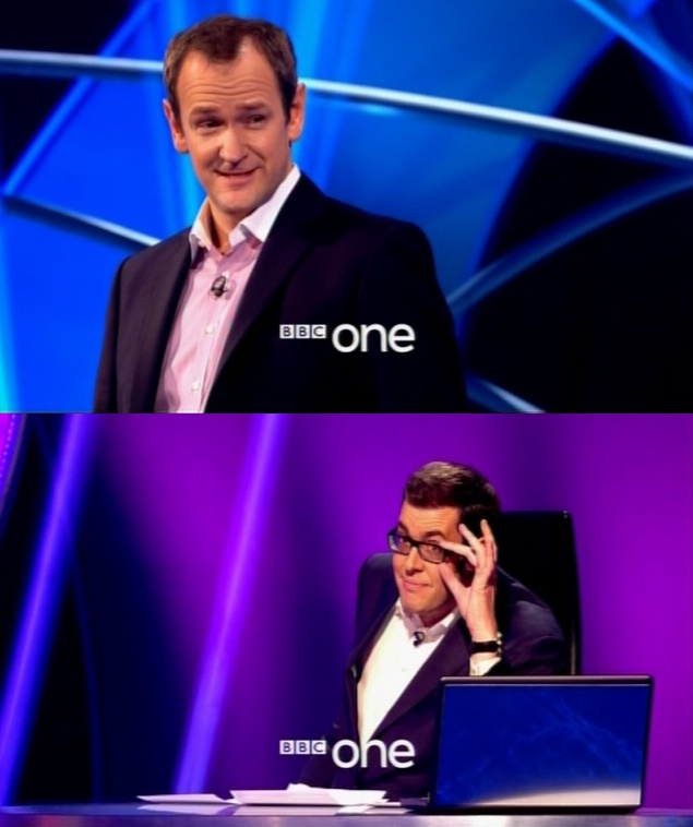 Richard Osman   Mmmm mmm :) Six foot seven of loveliness, and wonderful Xander of course