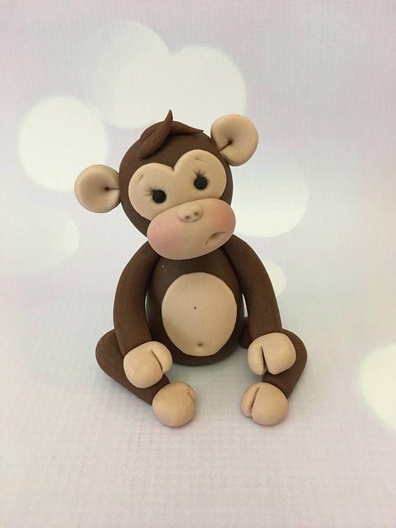 25+ best ideas about Fondant Monkey on Pinterest  Monkey cupcakes ...