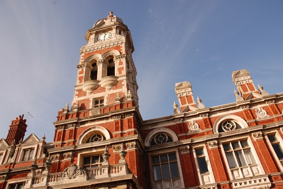 Eastbourne Town Hall.