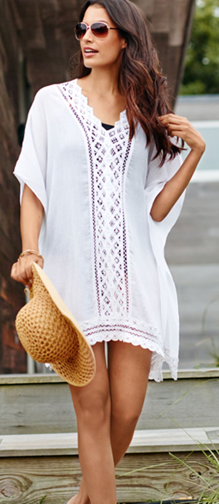 Chico's Lace Swim Cover Up