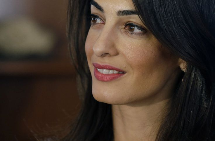 Egypt's government said human rights lawyer Amal Clooney can come to the country