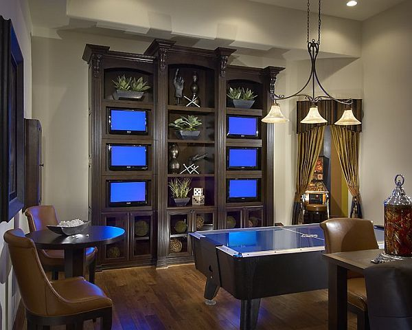 Game Room Design Ideas 21 truly awesome video game room ideas Design Ideas For Game And Entertainment Rooms
