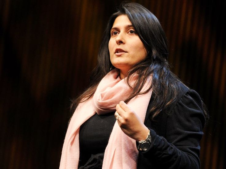 """Sharmeen Obaid-Chinoy, Journalist, Activist and Film Maker for winning her second Oscar for a documentary on honour killings in Pakistan.  """"There are so many wonderful people who have been working on legislation and awareness for years. If my film can hopefully play a small part in getting legislation passed and introspection on why this exists in our society, how it manifests, it's a victory."""""""
