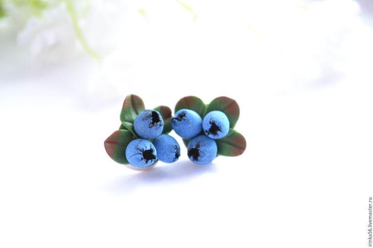 """Купить Гвоздики """" Черника"""" - голубой, черника, черничное, черничный, черника из…"""