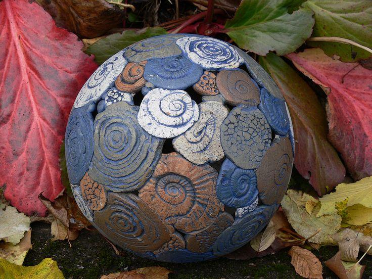Gartenleuchte aus eingefärbten Tonmassen 2009
