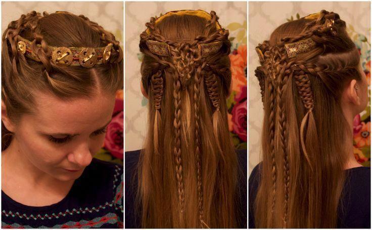 Pin By Paula On Viking Hair In 2020 Viking Hair Lagertha Hair Hair Styles