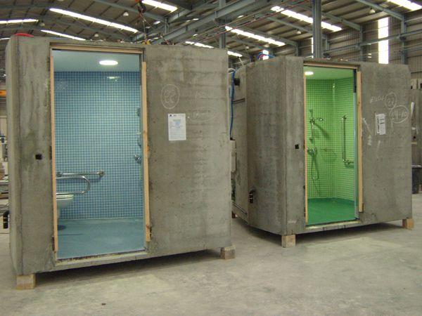 Hydrodiseño - Módulos prefabricados de hormigón