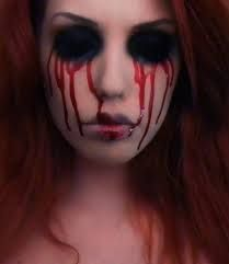 bloody mary makeup ideas for tatum halloween carnivalhalloween ideashalloween costumesbloody - Bloody Halloween Masks