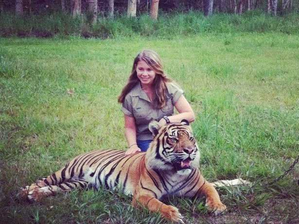 Bindi Irwin at age 14