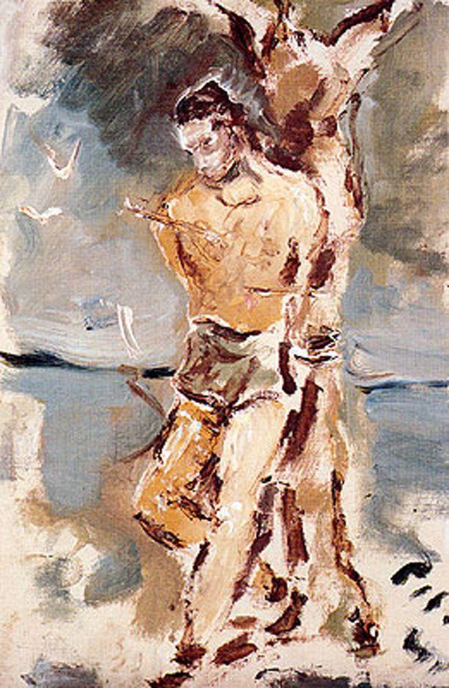 De Pisis - San Sebastiano 1947