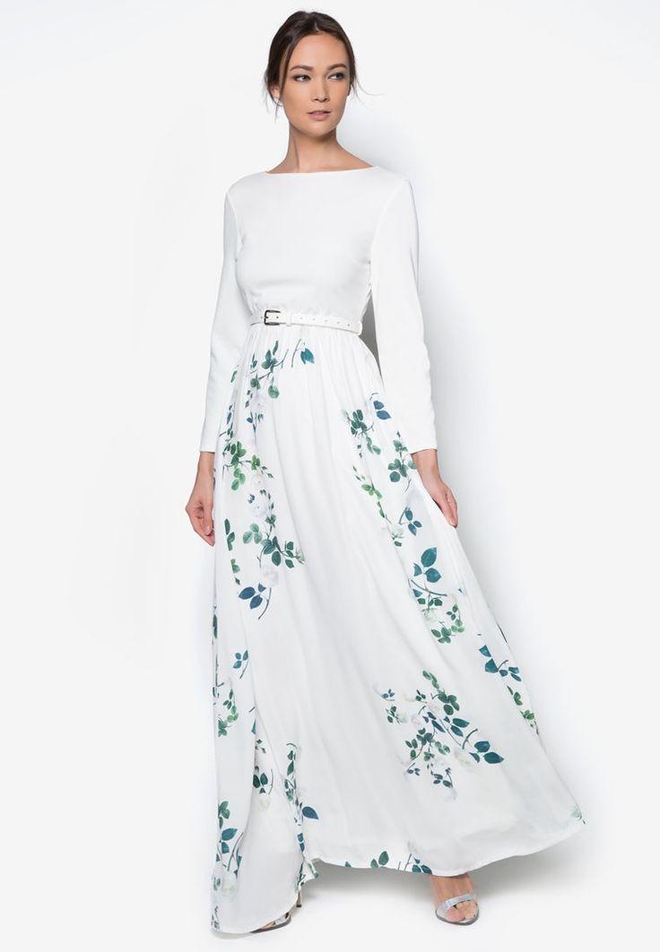 Pleated maxi dress malaysia blog