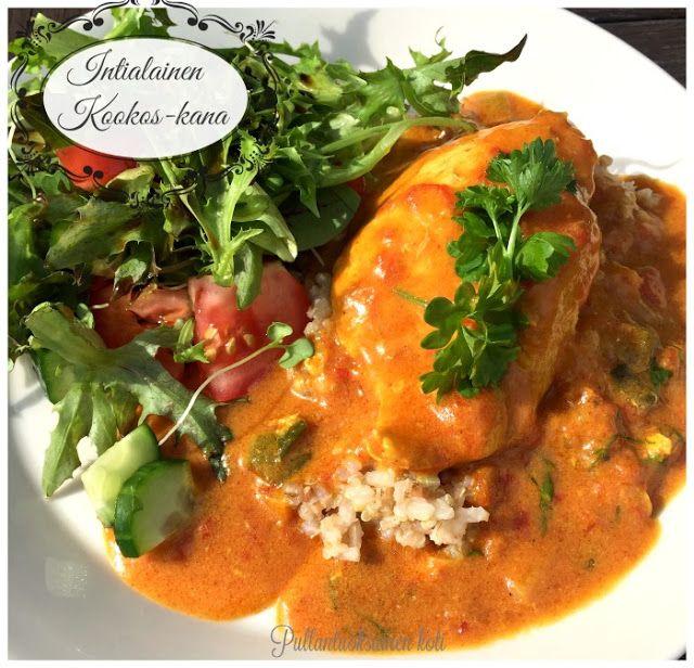 Pullantuoksuinen koti: Intialainen Kookos-kana. Indian Coconut-chicken - so delicious :P