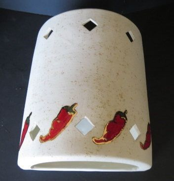 Red Chili Pepper Outdoor Sconce