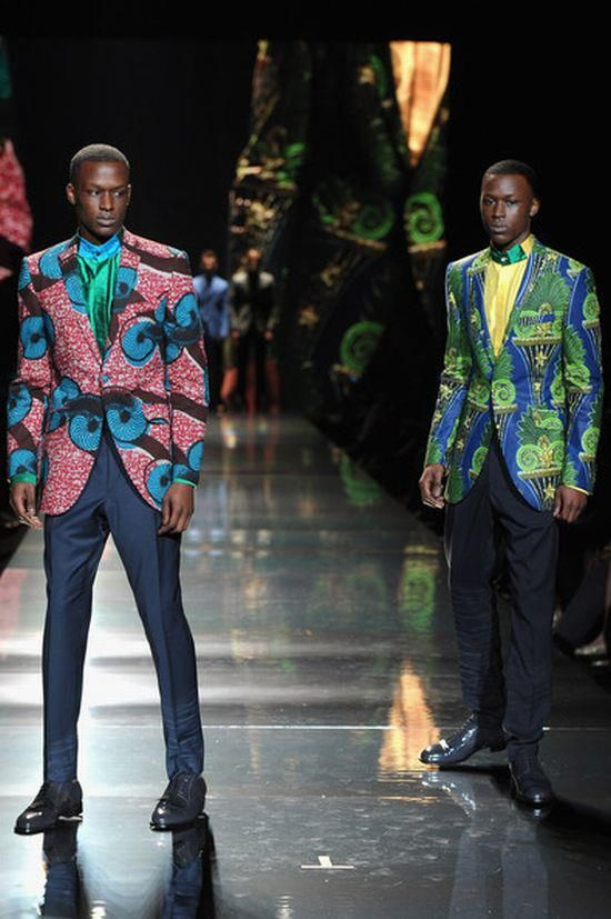 Ozwald Boateng  #SWaGG for Men ... awesome to see Men owning their style
