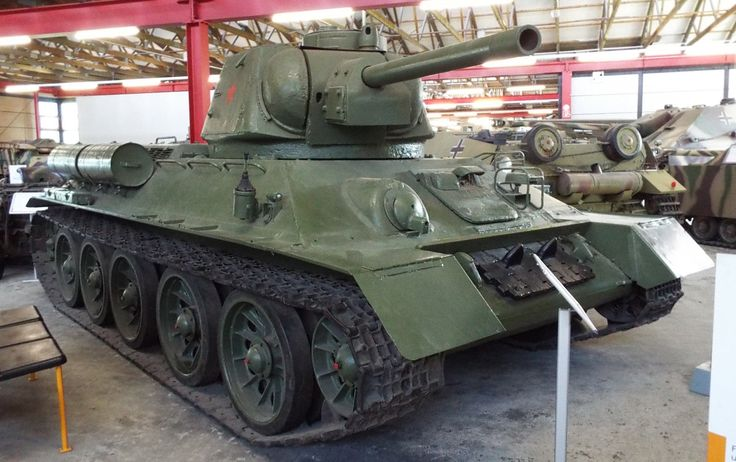 Soviet T34 Tank 1939 Panzer Museum Munster