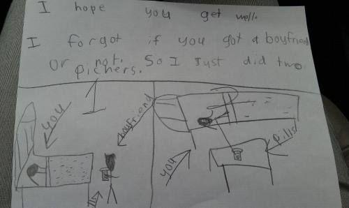 Brutally honest: Kids writing notes