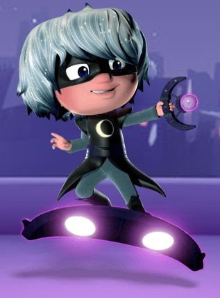 Luna Girl is one of the nighttime villains from the Disney Junior show PJ Masks. She is a mysterious girl who rides a Luna Board, uses a Luna Magnet to control objects, and is followed by a swarm of Luna Moths to help her with her evil deeds. Sometimes she allied with PJ Masks in some episodes.