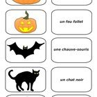 15 Halloween French Cards (PDF) Students can match the picture with the words. Great for concentration and vocabulary building. ...