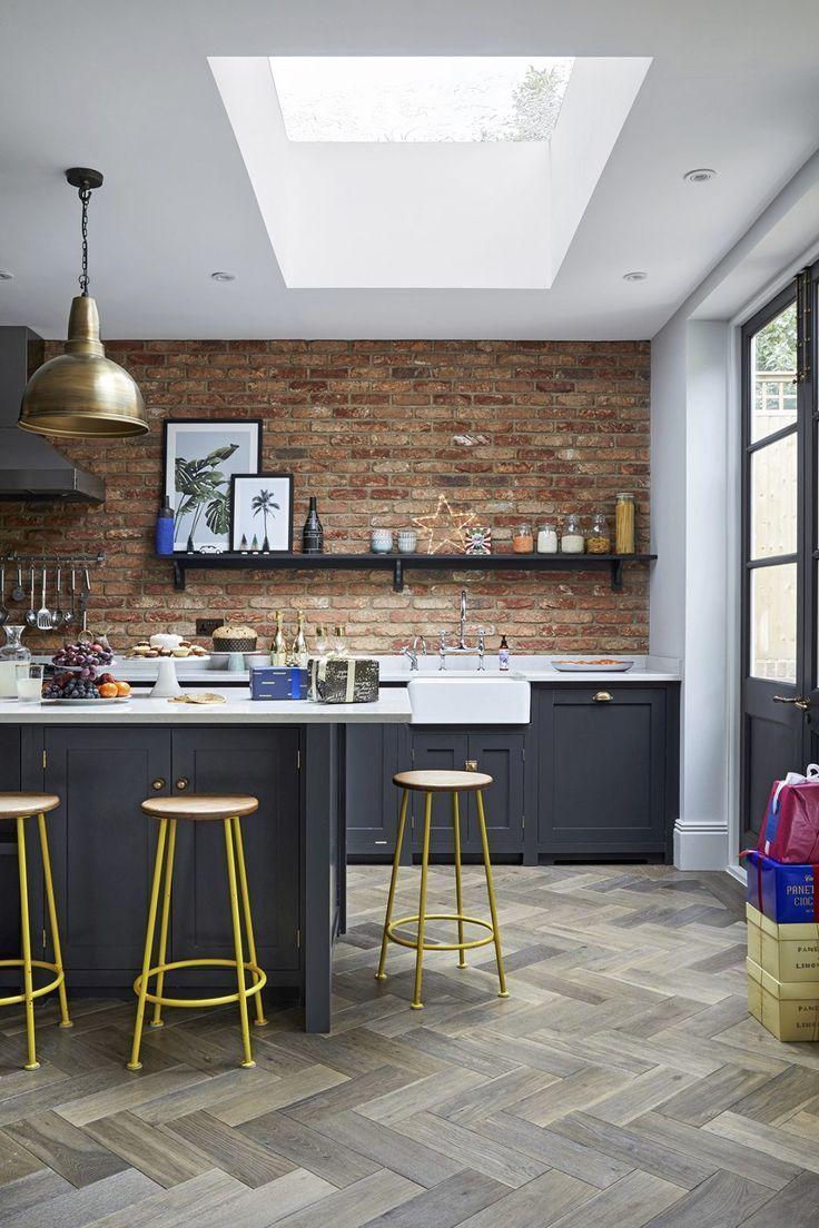 Bemalte Küchenschränke und Schränke: Kitchen Color Ideas ...