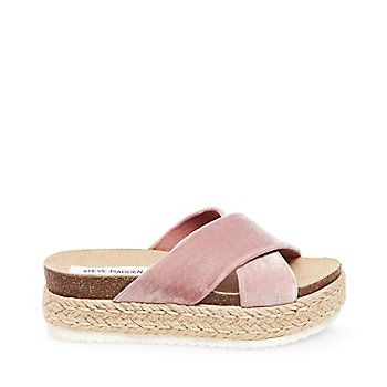 ARRAN - Slide into Spring in these easy minimalist espadrille slip-on  sandals. Style ARRAN with pieces that are modern and understated, like a cri