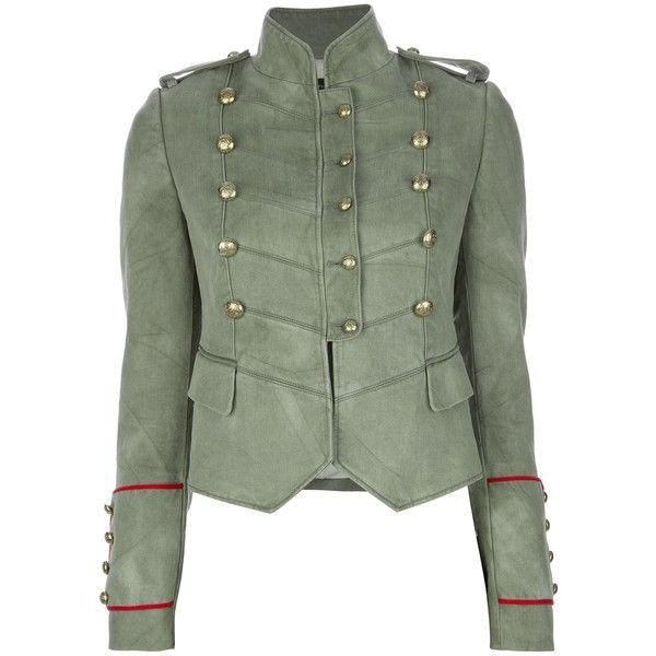 JOSEPH double breasted military blazer ($835) ❤ liked on Polyvore