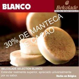 Categoría: Chocolates - Producto: Chocolate Cobertura Blanco Para Templar - Envase: Paquete - Presentación: X   1 Kg - Marca: Belcolade